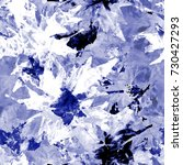 tie dye seamless pattern with... | Shutterstock . vector #730427293