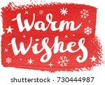 christmas calligraphy   Shutterstock .eps vector #730444987