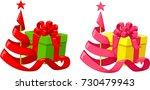vector illustration of cartoon... | Shutterstock .eps vector #730479943
