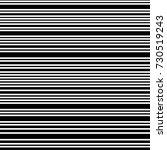narrow black white horizontal... | Shutterstock .eps vector #730519243