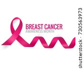 breast cancer awareness month... | Shutterstock .eps vector #730563973