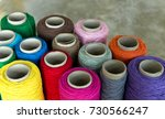 bundles of colorful string for... | Shutterstock . vector #730566247