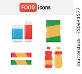 snack chips bag vector. fast...