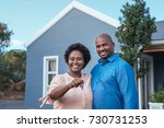portrait of a smiling african...   Shutterstock . vector #730731253