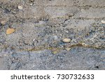 rough wall  rough cement | Shutterstock . vector #730732633