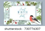 vector vintage banner with... | Shutterstock .eps vector #730776307
