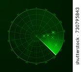 radar. blip. detection of...   Shutterstock .eps vector #730795843