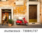 rome.italy   july 21  2017  ... | Shutterstock . vector #730841737