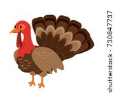 Turkey Animal Icon Image