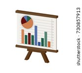 whiteboard with infographics...