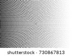 abstract futuristic halftone... | Shutterstock .eps vector #730867813