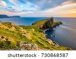 Neist Point Lighthouse On The...