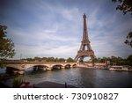 eiffel tower | Shutterstock . vector #730910827