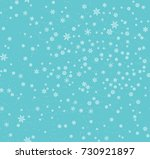 christmas seamless pattern with ... | Shutterstock .eps vector #730921897