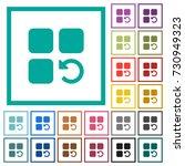 undo component operation flat... | Shutterstock .eps vector #730949323