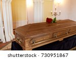 funeral and mourning concept  ...   Shutterstock . vector #730951867