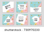 abstract vector layout... | Shutterstock .eps vector #730970233