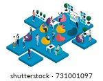 quality isometrics  the concept ... | Shutterstock .eps vector #731001097