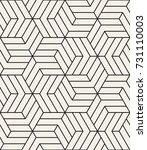 vector seamless pattern. modern ... | Shutterstock .eps vector #731110003