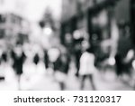 abstract background of people... | Shutterstock . vector #731120317