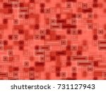seamless rust colored pattern...