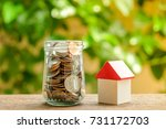 save money for investment... | Shutterstock . vector #731172703
