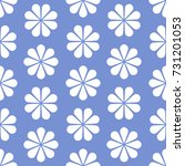 floral pattern design  babies... | Shutterstock .eps vector #731201053