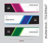 design of flyers  banners ... | Shutterstock .eps vector #731205667