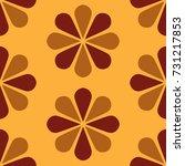 floral pattern design  babies... | Shutterstock .eps vector #731217853