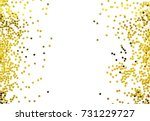group of gold star decoration... | Shutterstock . vector #731229727