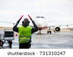 Ground Crew Signaling To...
