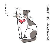 vector illustration character... | Shutterstock .eps vector #731315893