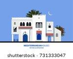 mediterranean moroccan or... | Shutterstock .eps vector #731333047