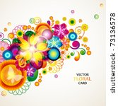 Floral Abstract Background....