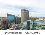 new victoria station  london. | Shutterstock . vector #731402953