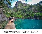 coron  philippines   apr 9 ...   Shutterstock . vector #731426227