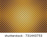 Golden Glass Mosaic  Luxurious...