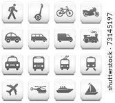 transportation icon on square... | Shutterstock .eps vector #73145197