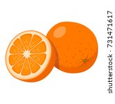 orange | Shutterstock .eps vector #731471617