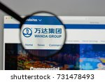 milan  italy   august 10  2017  ...   Shutterstock . vector #731478493