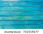 Blue Wood Planks Background...