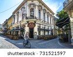 bucharest  romania   september...   Shutterstock . vector #731521597