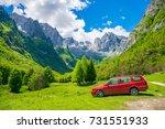 montenegro  prokletije ... | Shutterstock . vector #731551933
