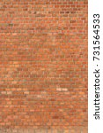 red brick wall texture... | Shutterstock . vector #731564533