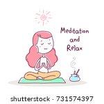 vector illustration of... | Shutterstock .eps vector #731574397