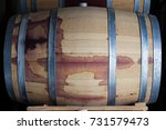 front view closeup of a wine... | Shutterstock . vector #731579473