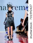 fashion models represent... | Shutterstock . vector #731592427