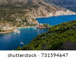 aerial panoramic spectacular... | Shutterstock . vector #731594647