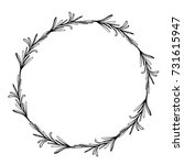 Sketch Wreath With Rosemary....
