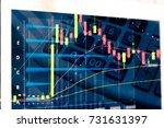 market cost economy analysis... | Shutterstock . vector #731631397